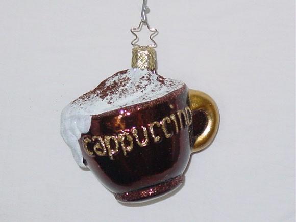 Christbaumkugeln Cappuccino.Cappuccino 8 Cm Dunkelbraune Tasse
